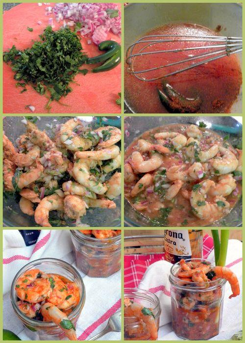 Southwestern Chipotle Shrimp Cocktails - collage2