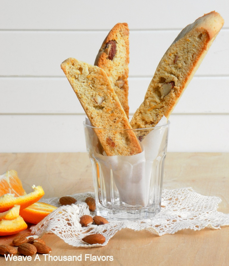 Biscotti with Almonds & Orange-01