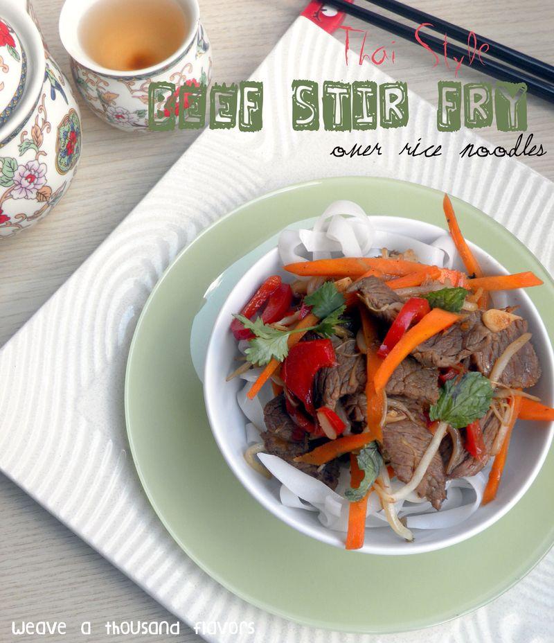 Thai Style Beef Stir fry-02