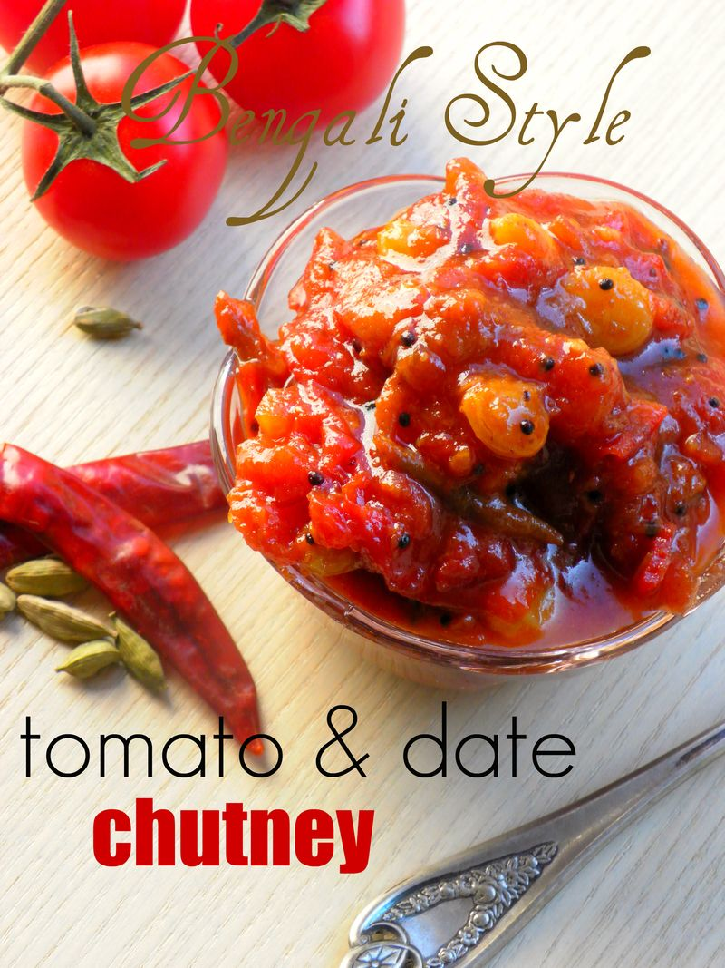 Tomato & date chutney - 02