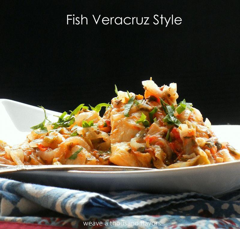 Pescado a la veracruzana fish veracruz style weave a for Fish veracruz recipe