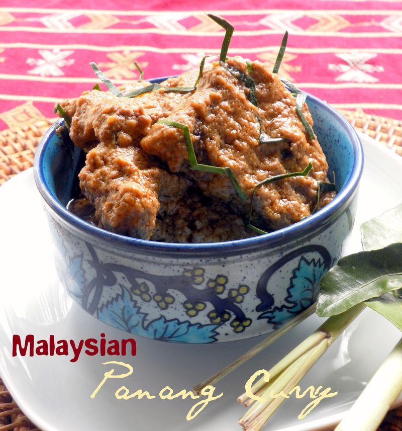 Malaysian Panang Curry - 1