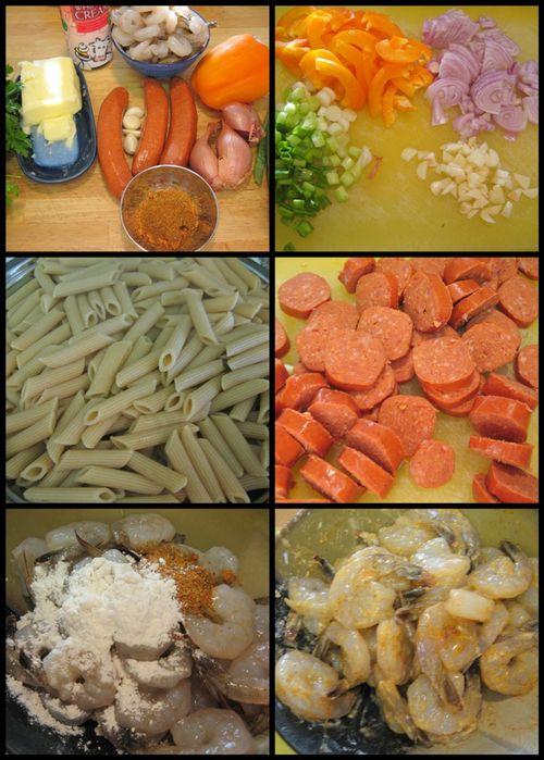Cajuan pasta - collage 1