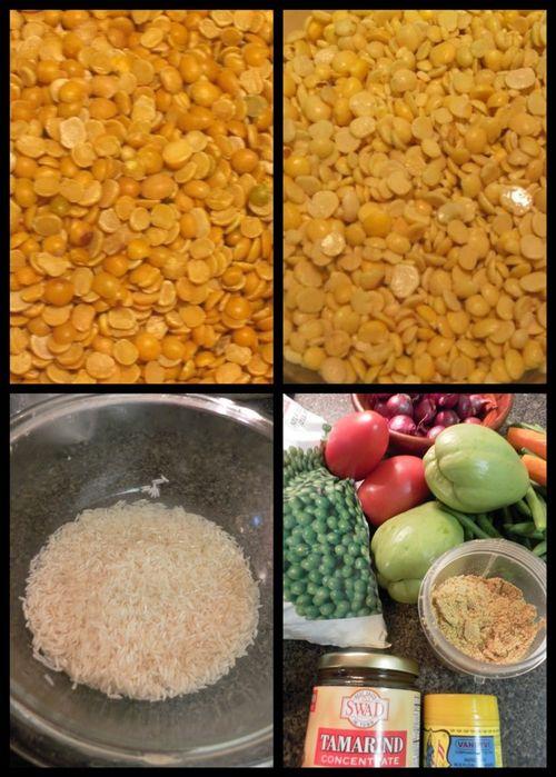 Bisi Bele Huliyanna Bhath - Ingredients