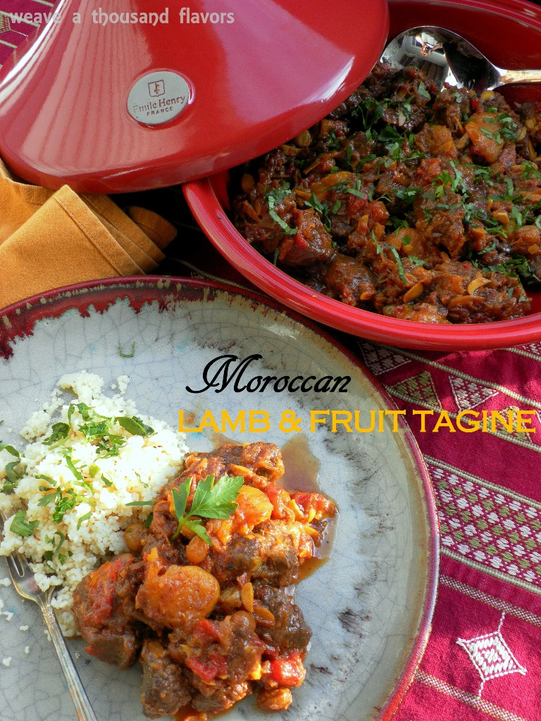 Moroccan Lamb & Fruit Tagine-2