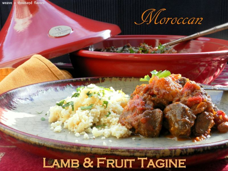 Moroccan Lamb & Fruit Tagine