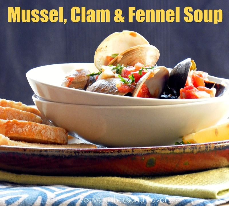 Mussel, Clam & Fennel Soup ~ Catania, Sicily