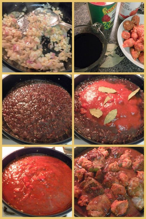 Pork & sausage ragu-collage2