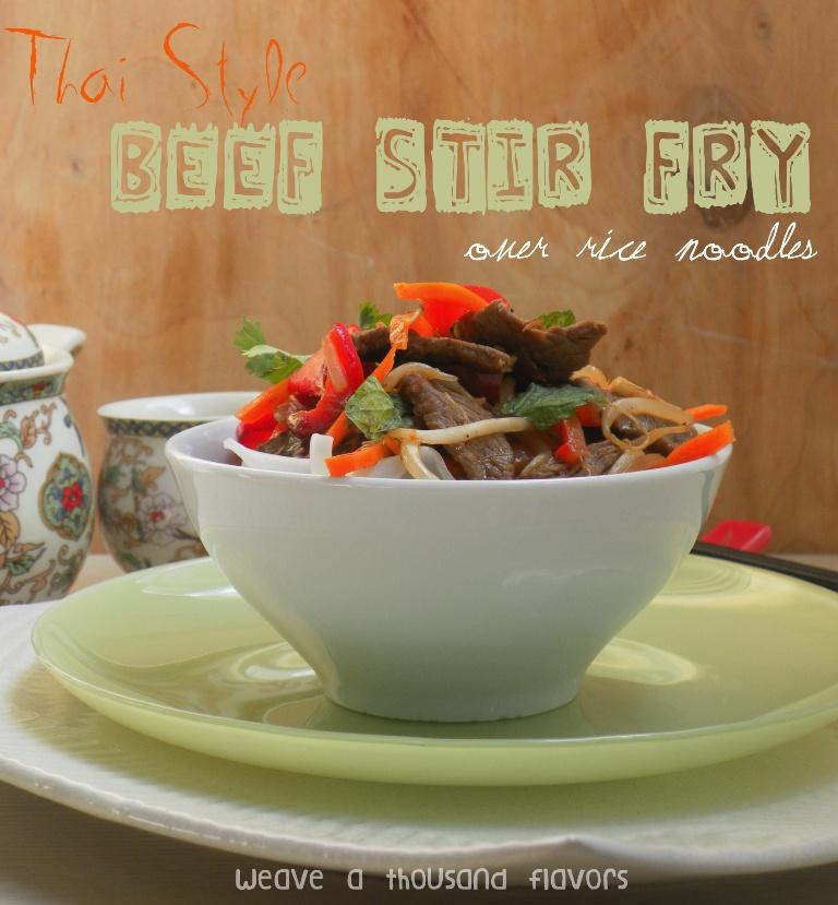 Thai Style Beef Stir fry-01