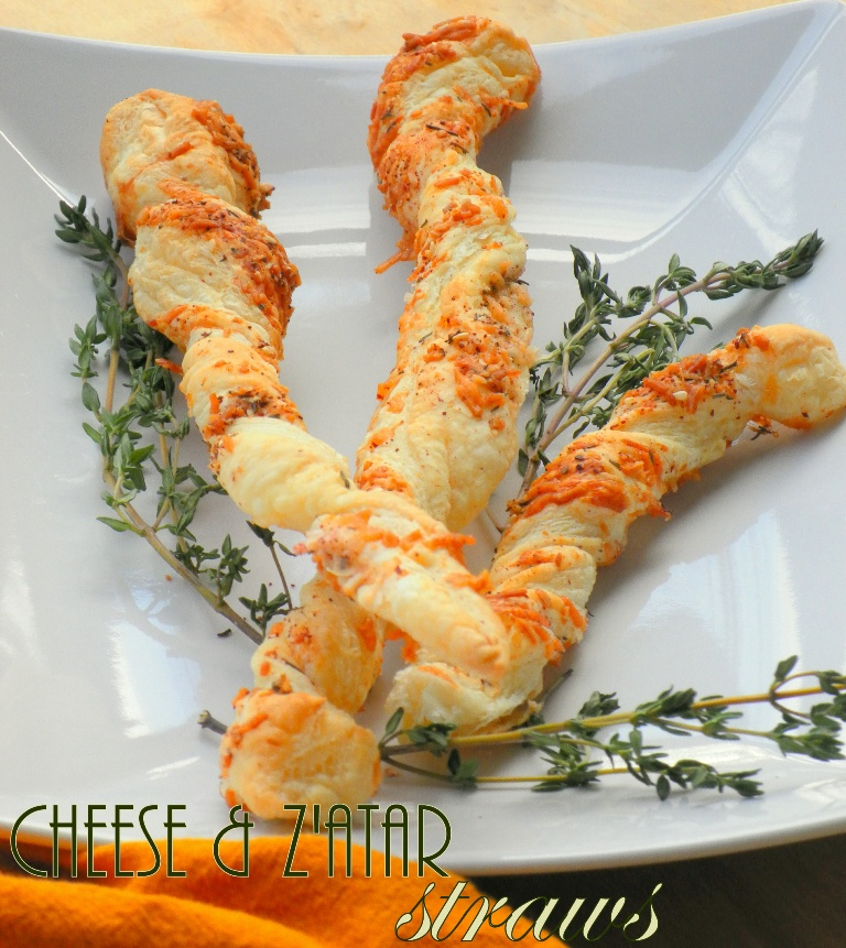 Cheese & Z'atar Straws-2