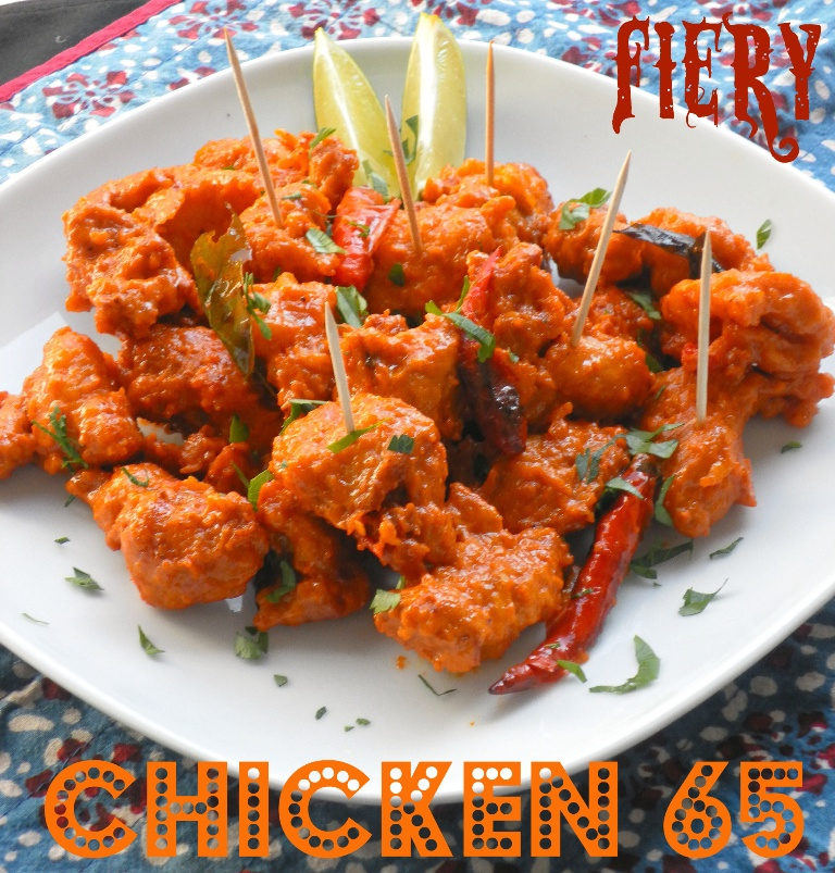 Fiery Chicken 65