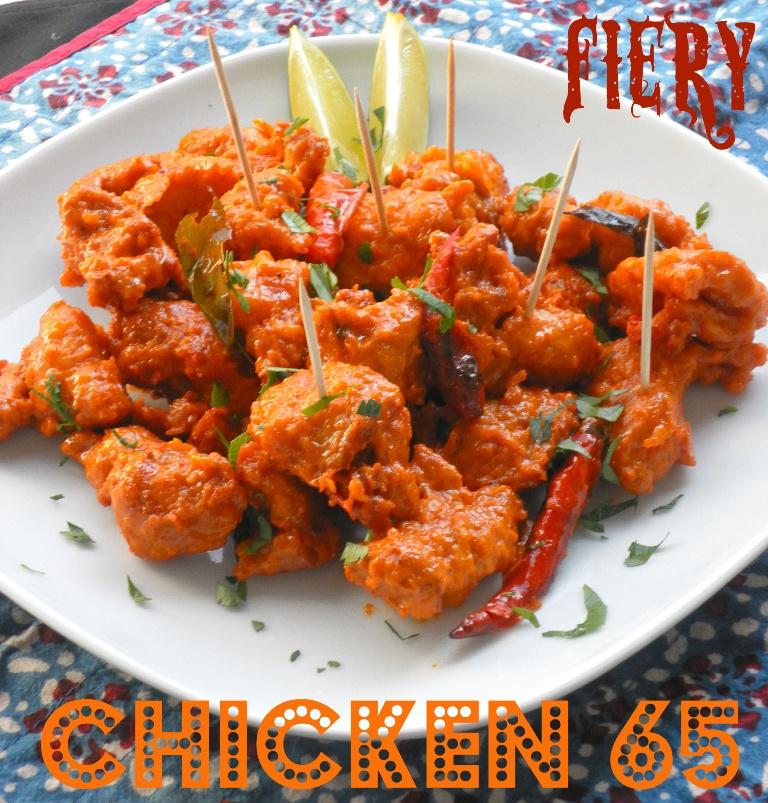 Fiery Chicken 65