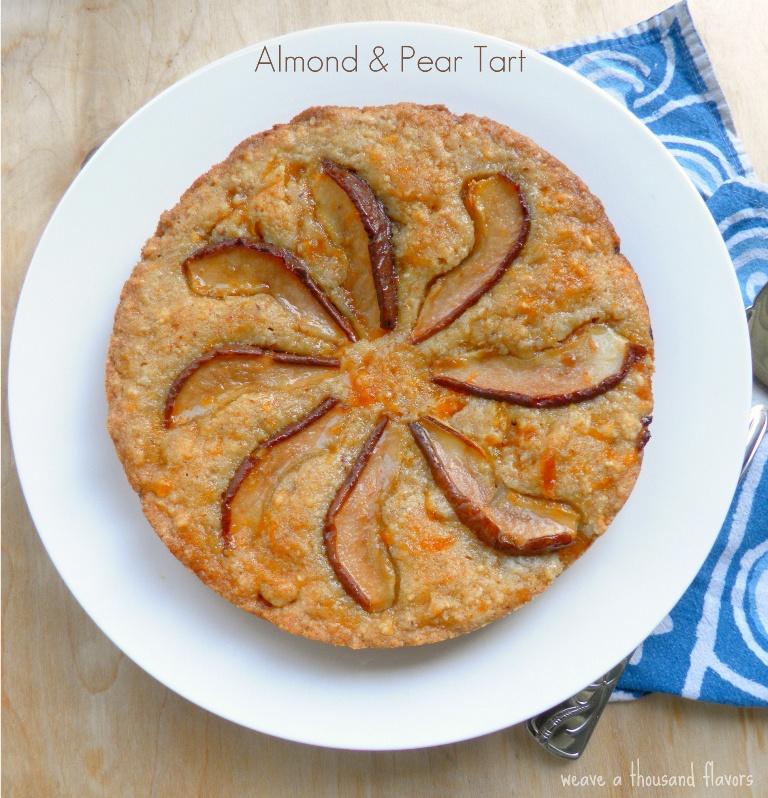 Almon & Pear Tart-01