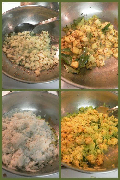Batata Poha - collage2