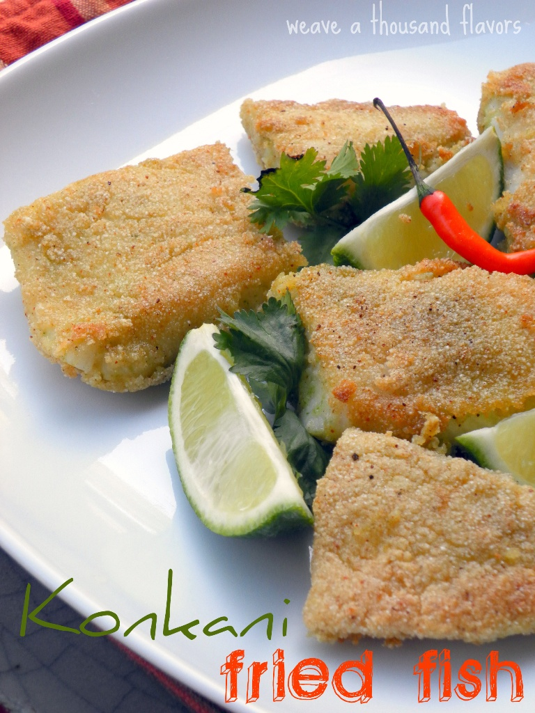 Konkani Style Fried Fish