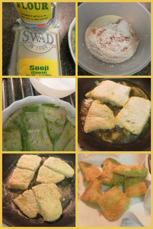 Konkani fried fish - collage 3