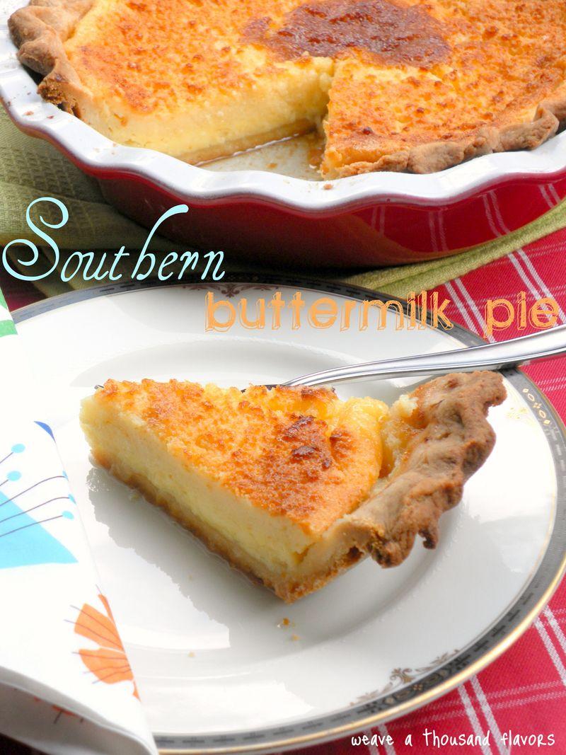 Nannie Davis' Southern Buttermilk Pie