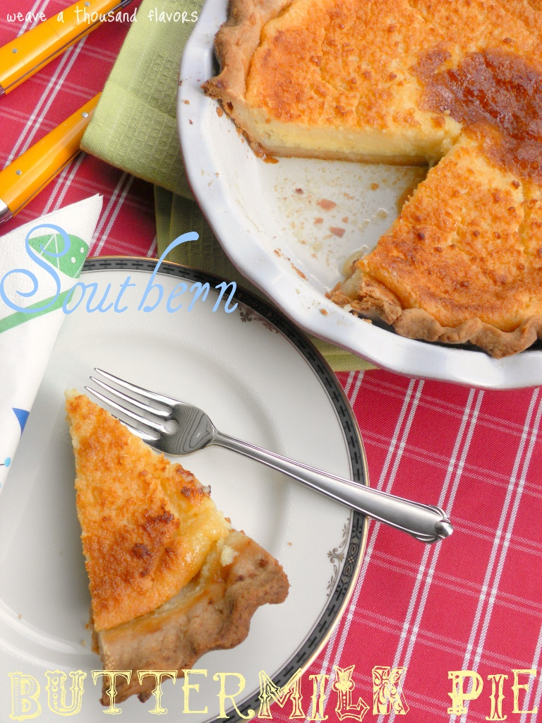Nannie Davis' Southern Buttermilk Pie