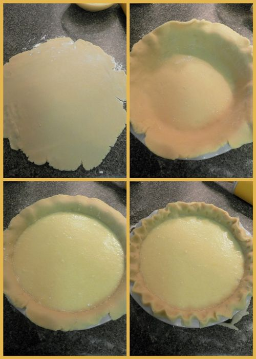 Buttermilk Pie-collage3