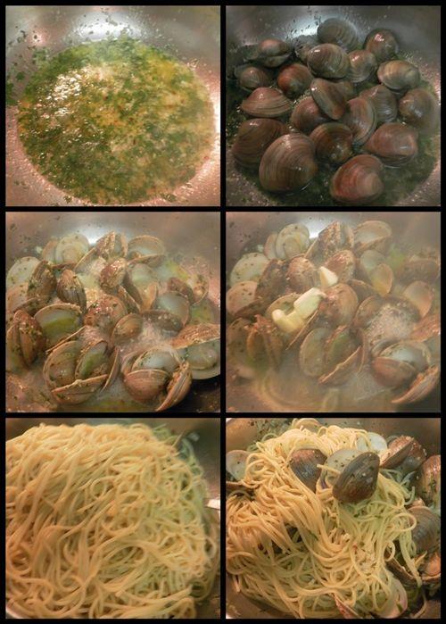 Spaghetti alle vongole-collage3