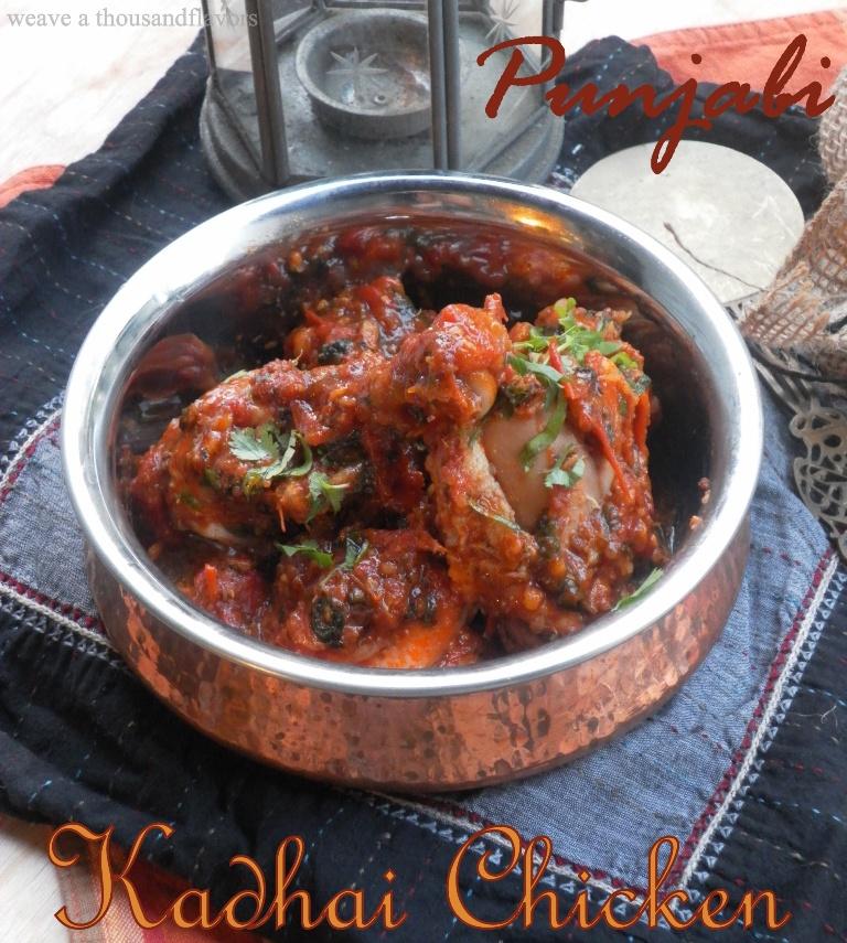 Kadhai chicken2