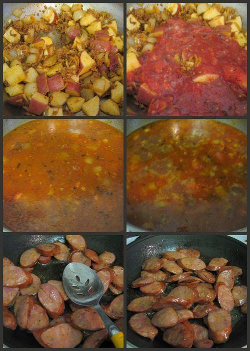 Portuguese clam soup-collage4