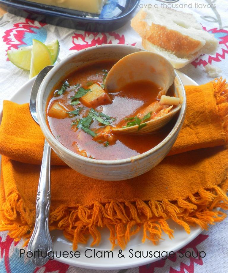 Portuguese clam soup-1