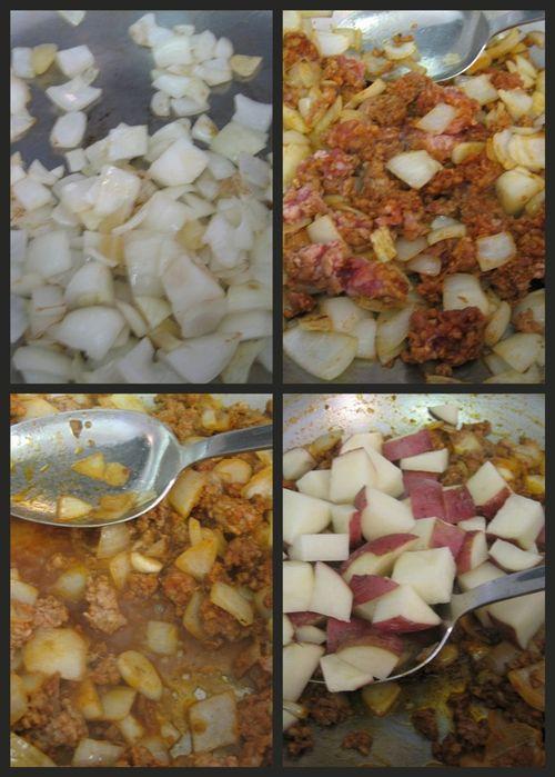 Portuguese clam soup-collage3