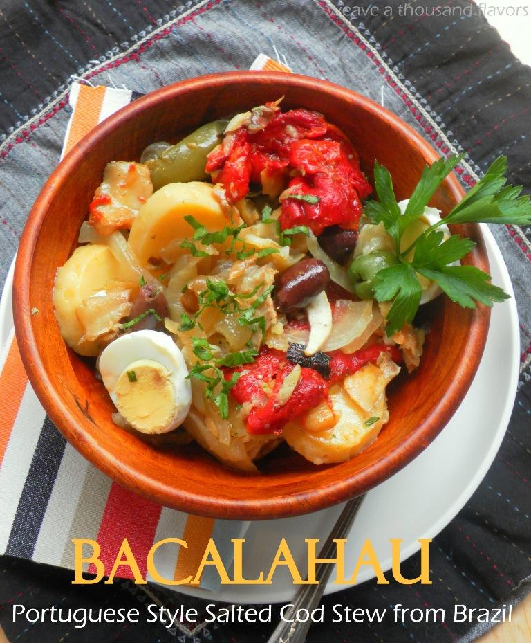 Portuguese style bacalhau a layered salted cod potato for Portuguese cod fish recipes