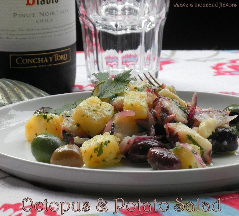 Octopus and potato salad -02