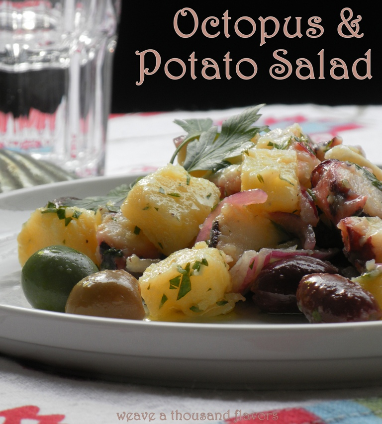 Octopus and potato salad -04