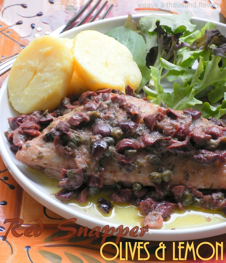 Red Snapper fillets with Olives-2