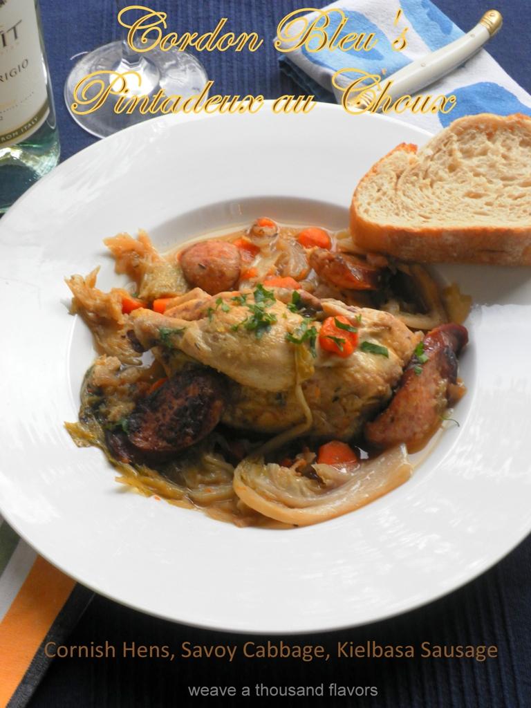 Cornish Hen and savoy cabbage-2