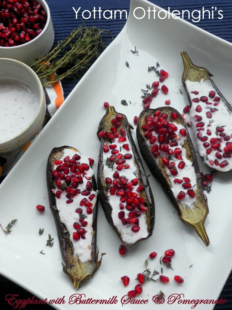 Ottolenghi eggplant - 1