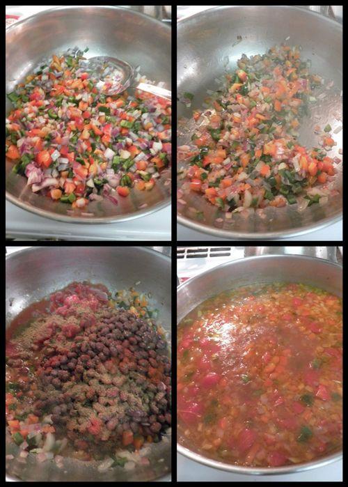 Chicken tortilla soup-collage2