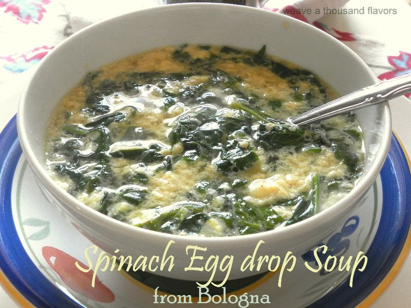 Spinach egg drop soup-2