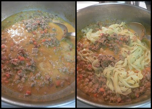 Bolognese meat sauce-collage5