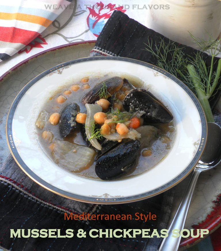 Mediterranean mussel soup-2