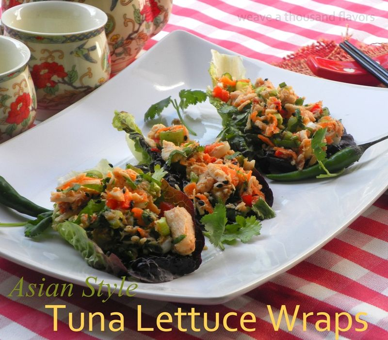 Asian Tuna lettuce wraps-02