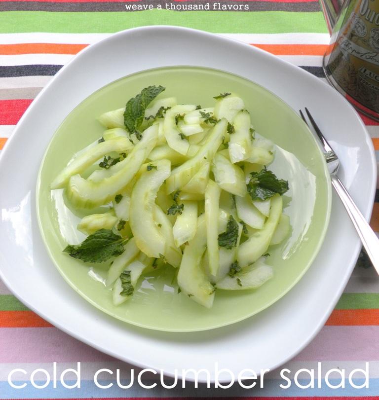 Cucumber salad - 01
