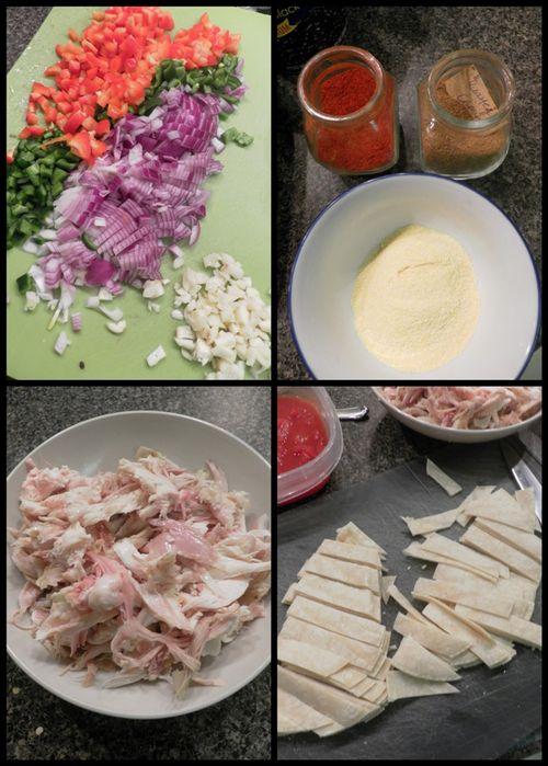 Chicken tortilla soup-collage1