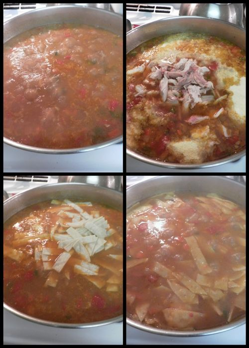 Chicken tortilla soup-collage3