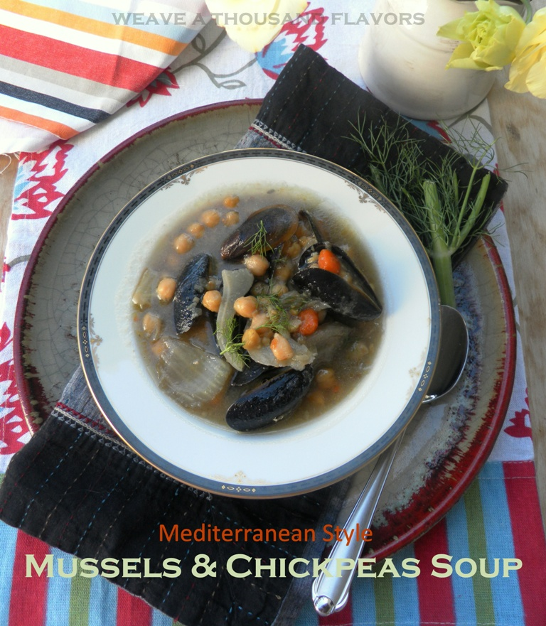 Mediterranean mussel soup-1