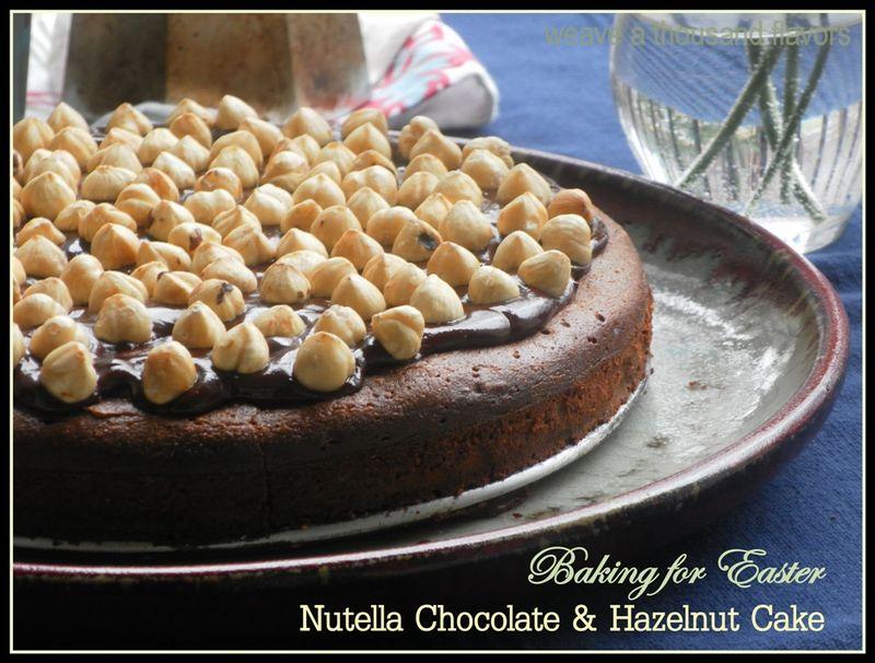 Chocolate Nutella Hazelnut cake-02