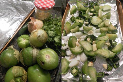Pollo salsa verde-collage2