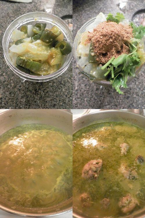 Pollo salsa verde-collage3