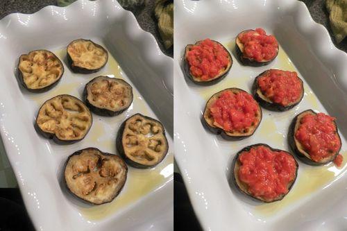 Eggplant Parmigiano - collage 3