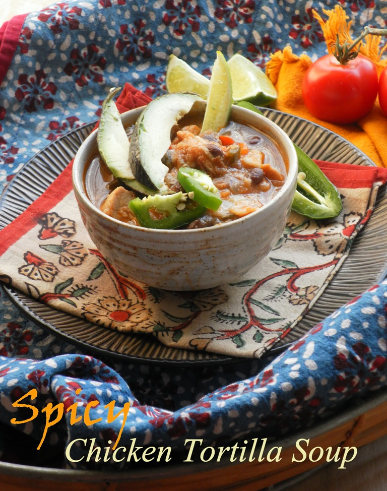 Chicken tortilla soup-1