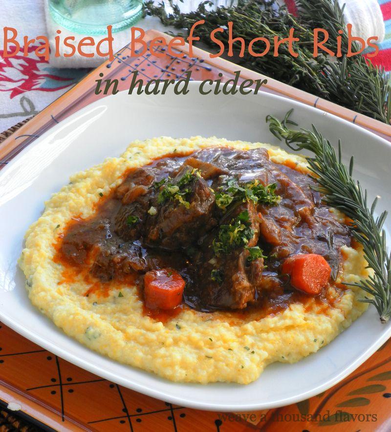Braised beef short ribs-1
