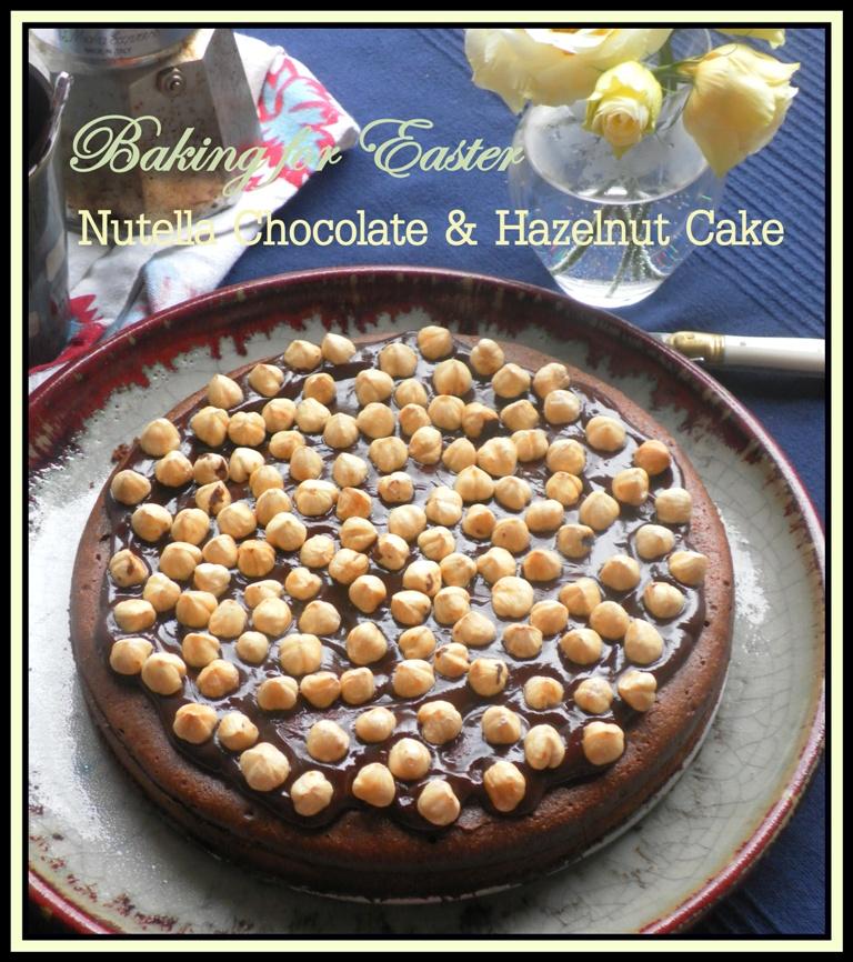 Chocolate Nutella Hazelnut cake-01